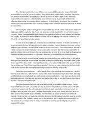 personal responsibilities essay rough draft running head 1 pages personal responsibility essay rough draft gen201
