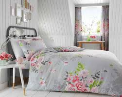 alice grey pink bedding set