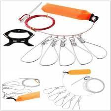 Josopa Fish <b>Lock Buckles</b> 5 <b>Locks</b> Durable Chain Stringers Float ...