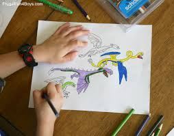 Awesome Dragon Coloring Pages To Print Frugal Fun For Boys And Girls