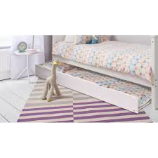 childrens day bed. Pullout Spacesaver Trundle Bed In White Childrens Day