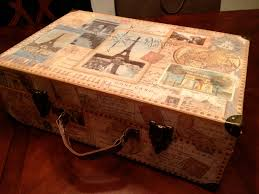 Decorative Boxes Michaels Michaels Cardboard Luggage Box Travelthemed Home Decor Pinterest 11