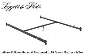 Full Headboard/Footboard to Queen Bed Conversion Hook In Bed Frame ...