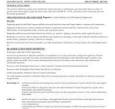 Mechanic Resume Template New Plant Mechanic Cover Letter Index Clerk Cover Letter Sample 49