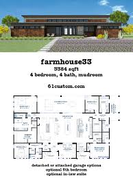 open house plans one floor beautiful this modern farmhouse plan includes a huge loft style open