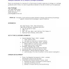 Sample High School Student Resumes Resume Examples For Highschool Students With Little Experience 23