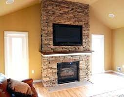 tv over wood burning fireplace what to put above fireplace can you have a above wood