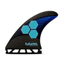 Amazon.com : <b>Futures Fins</b> - AM1 TECHFLEX THRUSTER - BLUE ...