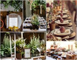 Pine Cone Wedding Table Decorations Blue Mason Jar Studio Adirondack Inspired Weddings