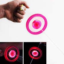 Con quay đồ chơi fidget spinner có đèn LED cho trẻ em