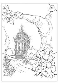 Printable Adult Coloring Pages In Landscape View Not Portrait View