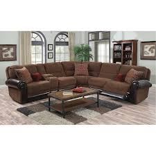 auburn brown 4 piece power reclining sectional sofa william rc willey furniture