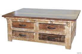 rustic solid oak coffee table inspirations