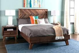 Living Spaces Bedroom Sets Queen Platform Bed Room Set From Alton ...
