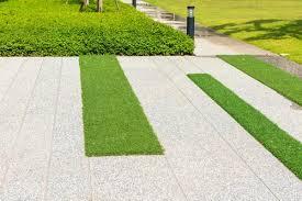 lay artificial grass on concrete