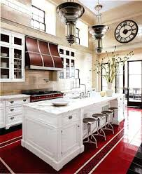 vintage vinyl kitchen flooring style tile in an red black and white art era best ideas with decoration t