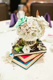 Paper Flower Centerpieces At Wedding 7 Times Paper Wedding Flowers Won Our Hearts Unveiled By Zola
