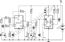 microphone circuit page 6 audio circuits next gr Computer Microphone Wiring Diagram fm wireless microphone Realistic 5 Pin Microphone Wiring