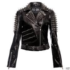 leather jacket women s spike killstar