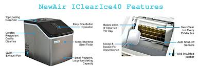newair clearice40 portable countertop ice maker review