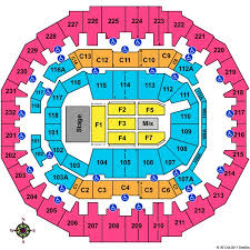 Fedexforum Seating Chart With Seat Numbers Fedexforum Tickets And Fedexforum Seating Charts 2019