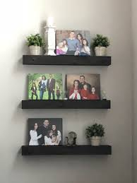 What To Put On Floating Shelves Adorable Remodelaholic How To Build A DIY Floating Shelf Or Two