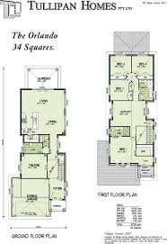 House plan double storey narrow home design home design tullipan