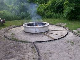 masonry fire pit plans round concrete fire pit fire pit design ideas