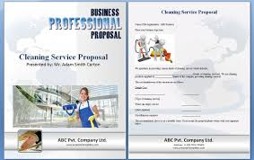 Cleaning Proposal Template Cleaning Proposal Template Word Excel Formats 22