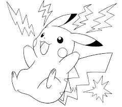 Pikachu To Color Trustbanksurinamecom
