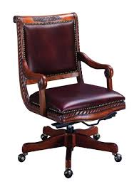leather home office chair. Luxury French Leather Rolling Home Office Chair Design