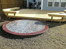 fire pit deck pad lovely new wood deck with fire pit best fire pit wood deck