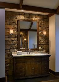 rustic stone bathroom designs. Rustic Stone Wall Bathroom Rustic-bathroom Rustic Stone Bathroom Designs D
