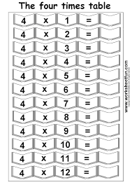 Worksheet » 12 Times Table Multiplication Worksheets - Periodic ...