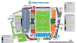 Fc Dallas Seating Chart Childrens Mercy Park Home Sporting Kansas City