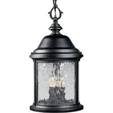 large outdoor pendant lighting. Progress Lighting Ashmore Collection 3-Light Textured Black Outdoor Hanging Lantern Large Pendant H