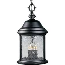 progress lighting ashmore collection 3 light textured black outdoor hanging lantern