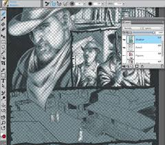 comic book lighting. Painting_a_Comic_Book_Page_in_Corel_Painter_122 Comic Book Lighting O
