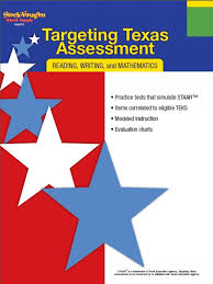6th Grade Staar Chart Targeting Texas Assessment Reading Writing Mathematics