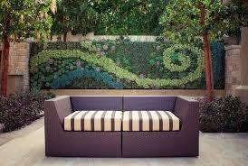 vertical wall garden art