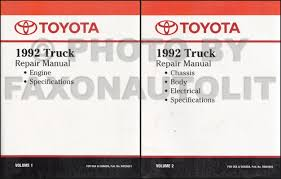 Toyota Truck Repair Manual