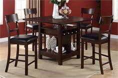 48 kanti counter height set with lazy susan