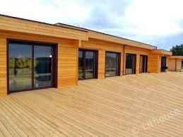Modern Wood House Pascal Wooden House Minimalistic Design Eco Friendly Wooden Houses