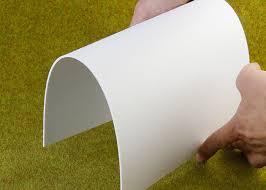 outdoor flexible pvc sign board fireproof lightweight custom 1220 x 2440mm