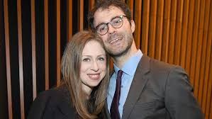 President bill clinton and former u.s. Chelsea Clinton Welcomes Third Child With Husband Marc Mezvinsky Hollywood Reporter