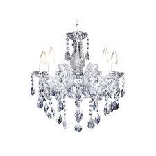 5 light crystal chandelier sofia 5 light crystal chandelier