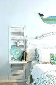beach themed wall decor beach room decor beach bedroom decor old shutter nightstand for a beach beach themed wall decor