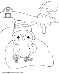 Here are a bunch of free printable winter coloring pages for kids to color! Winter Coloring Pages For Kids Fun Loving Families