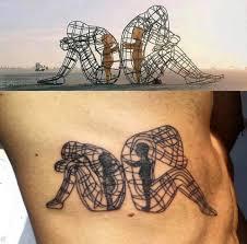 круто любители тату всего мира выбирают для себя эскиз скульптуры