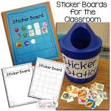 Stick To Good Behavior Sticker Board Classroom Management